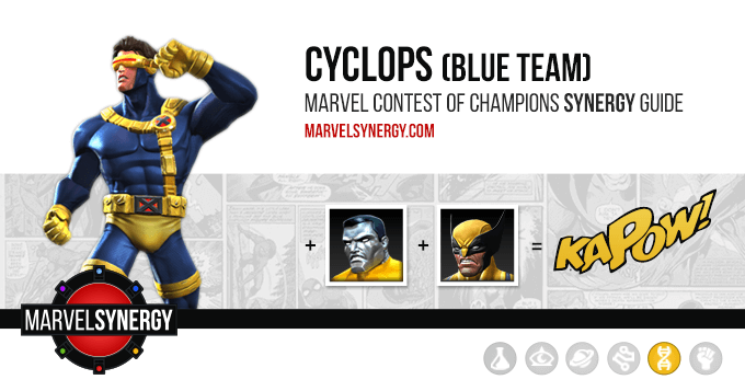 Cyclops (Blue Team) Cover