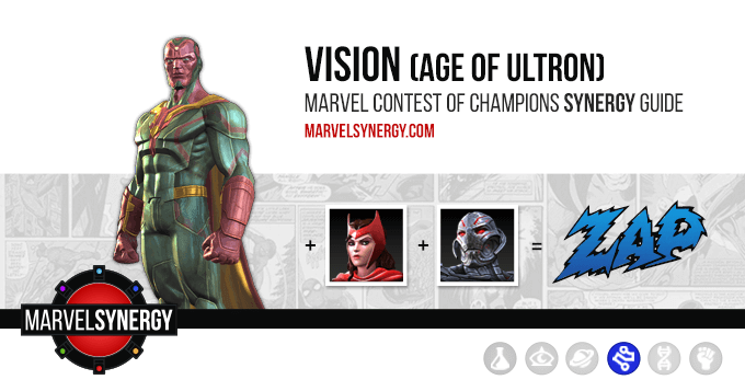 Vision (Age of Ultron) Cover